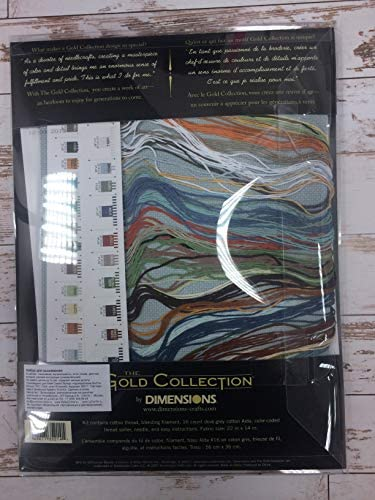 "Dimensions Gold Collection galope caballos Cross Stitch Kit Nuevo 18/""x10/"" 35214"
