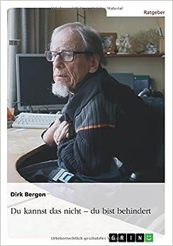 Book Du kannst das nicht - du bist behindert (German Edition)