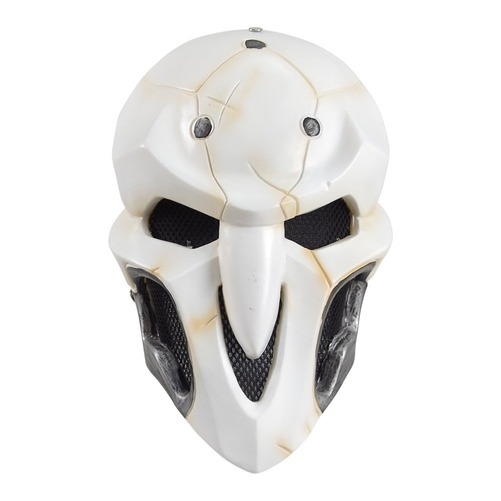 Grim Reapers Masks Cosplay Costumes for Masquerade Halloween Party (A-Reaper)