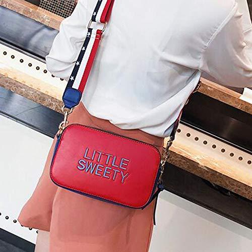 Fille Red YANMMll Red Mini Bandoulière Petit Sac Bandoulière Wild qTw1zR