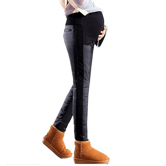 d9f0f23f1b7a7 mama stadt Maternity Pants High Waist,Over The Bump Maternity Trousers,Maternity  Leggings Fleece
