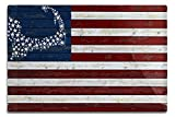 Lantern Press Cape Cod, Massachusetts – Distressed Flag (12×18 Aluminum Wall Sign, Wall Decor Ready to Hang) Review