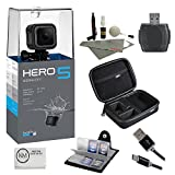 #4: GoPro HERO 5 Session Bundle (7 items) + 64GB Card + Camera Case + Accessory Kit