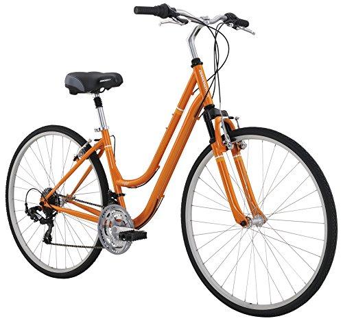 "UPC 791964501459, Diamondback Bicycles Women's Vital 1 Complete Hybrid Bike, 17""/Medium, Orange"
