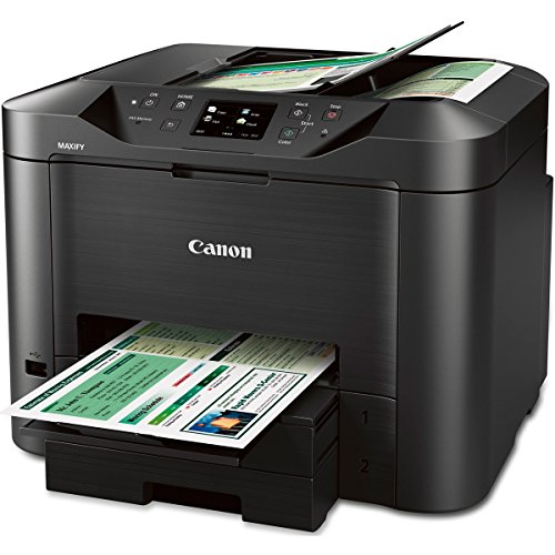 Canon MAXIFY MB5320 Wireless Office All-In-One Inkjet Printer with Mobile and Tablet Printing, and AirPrint and Google Cloud Print Compatible,...