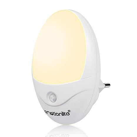 Emotionlite LED Sensor de Movimiento Luz de Noche Enchufe Noche de la Lámpara Los Niños Lámpara ...