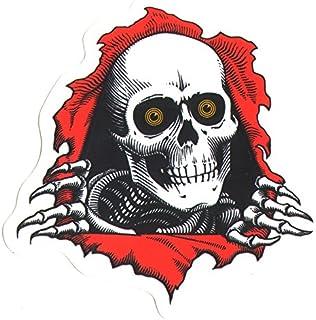 Powell Peralta Oval Dragon Skateboard Sticker AstColors