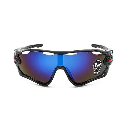 Gafas de sol polarizadas para hombres y mujeres, lentes intercambiables para montar en bicicleta, gafas de sol con protección UV, para pesca, ...