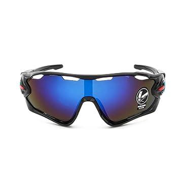 4a81b9d61 Gafas de sol polarizadas para hombres y mujeres, lentes intercambiables para  montar en bicicleta,