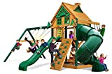 Mountaineer Treehouse Swing Set with Timber Shield