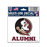 Florida State Seminoles Official NCAA 4.5''x6'' Car Window Cling Decal by Wincraft