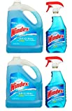 Windex Glass Cleaner Plus Refill - 32 Oz And 128 Oz (2 Pack)