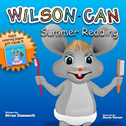 Children's book: Wilson-Can (Educational Children's Books Collection Book 21) by [Zimmerli, Sivan]