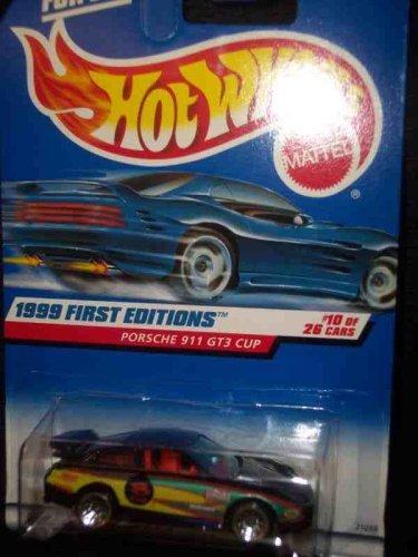 Hot Wheels 1999 First Editions -#10 Porsche 911 GT3 Cup Purple #912 Mint 10 Porsche 911 Gt3 Cup