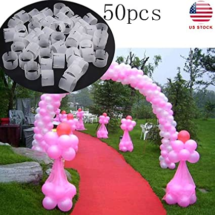 Balloon Arch Connectors Clip Ring Buckle Balloon Flower Home Decoration Party