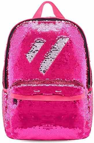 a2c206973cb Magic Flip Reversible Sequin Backpack for Girls Glitter Mermaid School Book  Bag