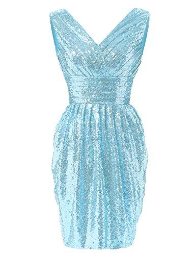 YIRENWANSHA Fashion Prom Dresses Plus Size Short Evening Gown For ...