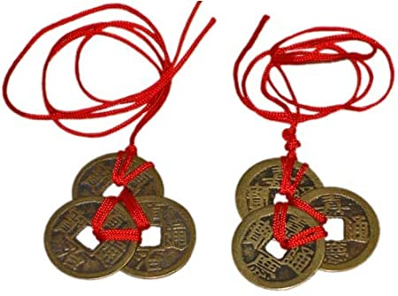 Reorient Chinese Feng Shui Coins For Wealth And Success 2 Sets Of