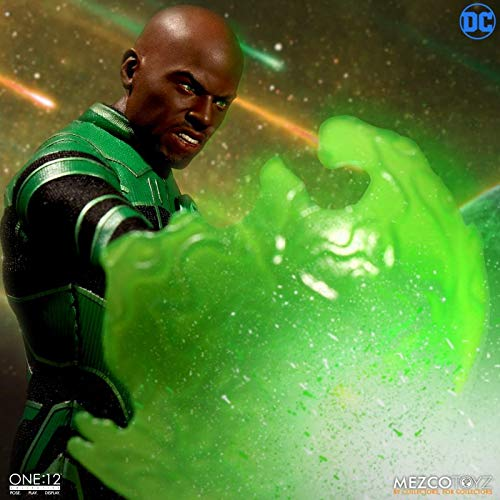 Mezco One DC Green Lantern John Stewart Action Figure Multicolor B07KMXJH15 12 Collective