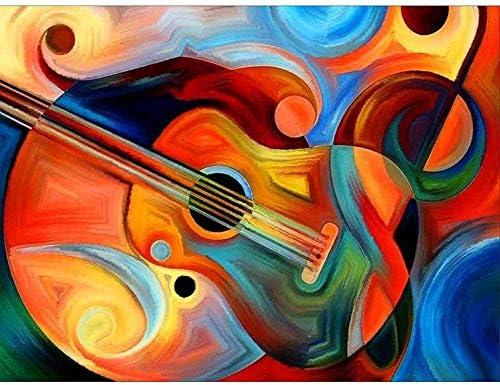 Puzzle Clásico Adulto 1500 Piezas Patrón Abstracto De Guitarra El ...