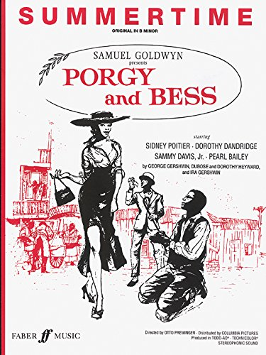 Sheet Jazz Music Vocal (Summertime (from Porgy and Bess): Piano/Vocal, Sheet (Faber Edition))