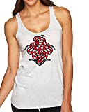 Sinaloan Kingsnake Triple Snake Pattern | Womens Fashion Premium Tri-Blend Racerback Womens Graphic Tank Top