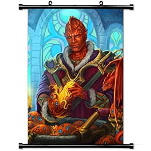 Fashion Style Posters,Dragon Egg Cells Castle Candles High Quality Home Decor Wall Scroll Poster Fabric Painting 23.6 X 35.4 Inch (60cm X 90 cm)