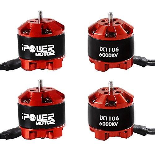 iPower Motor 1106 6000kv Brushless Motor 2-3S for RC Quadcopters & Multirotors Models Toys Part