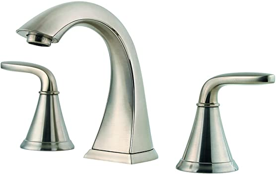 Pfister Lf049pdkk Pasadena 2 Handle 8 Inch Widespread Bathroom Faucet In Brushed Nickel Amazon Com