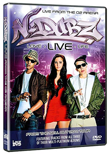 N-Dubz Love- Live - Life (Live at the O2 Arena) Official DVD [Non USA PAL Format]