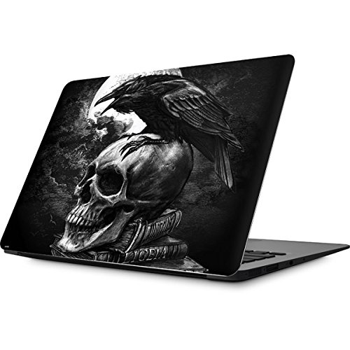 Skinit Skull & Bones MacBook Air 13.3 (2010-2016) Skin - Alchemy - Poe's Raven Design - Ultra Thin, Lightweight Vinyl Decal Protection by Skinit (Image #1)