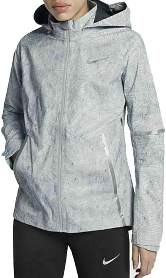 éxtasis petrolero Pelágico  Nike Women's Zonal AeroShield Solstice Grey Running Jacket 876833 065 (m)  at Amazon Women's Clothing store