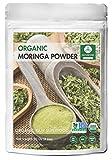Premium Quality Moringa Green Leaf Powder (2 Pound), Organic Raw-Gluten-Free & Non-GMO