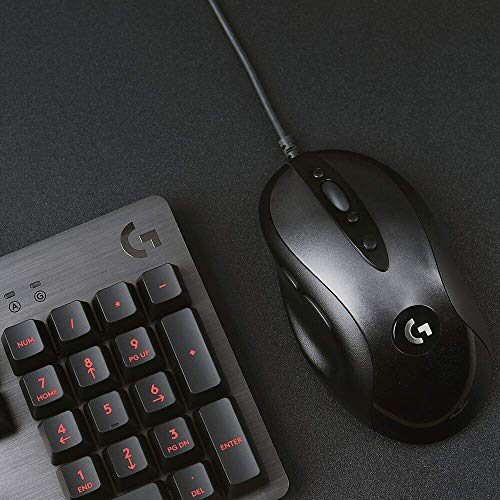 Logitech MX518 Gaming-Grade Optical Mouse PC Mouse, PC/Mac, 2 Ways