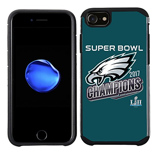 Prime Brands Group iPhone 8/7/6S/6 - Cell Phone Case - NFL Licensed Philadelphia Eagles LII Super Bowl Champions