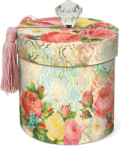 Punch Studio Modern Rose Toilet Tissue Holder