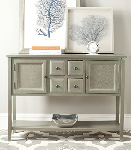Safavieh AMH6517E American Homes Collection Charlotte Sideboard, French Grey ()
