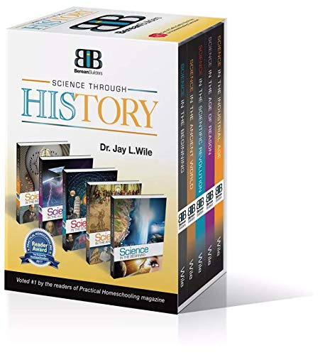 Science Through History, Complete Boxed Set: Science in The Beginning, Ancient World, Scientific Revolution, Age of Reason, Industrial Age