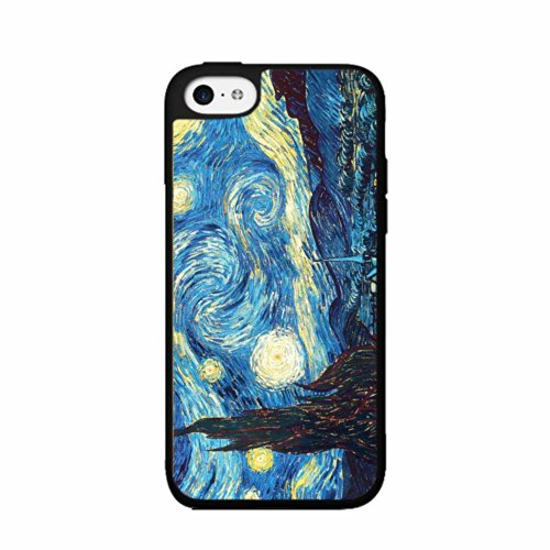 BleuReign Van Gogh Starry Night TPU RUBBER SILICONE Phone Ca