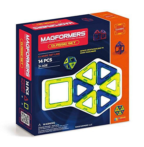 Magformers 14 pieces Magnetic Educational Construction