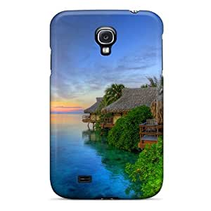 Galaxy Case - Tpu Case Protective For Galaxy S4- Heaven On Earth