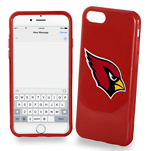 FOCO Arizona Cardinals Solid Ai7/8 Cover - TPU 4.7