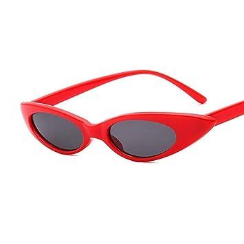 Yuanz Señoras Lindas Ojo de Gato Gafas de Sol Mujeres ...