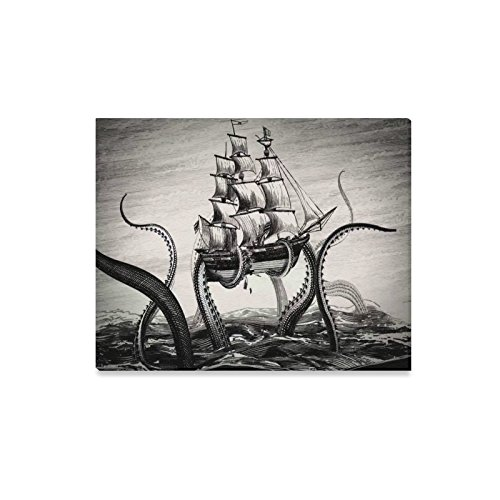Lasana Canvas Prints The Kraken Pirates of the Caribbean Cover Canvas Print 20