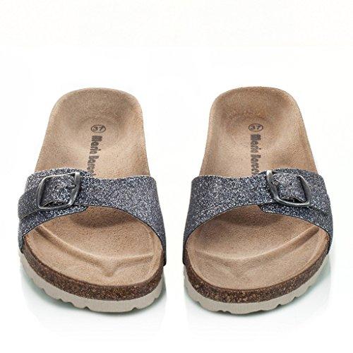 Maria Barcelo Glitter Sandalen Sommer Damen