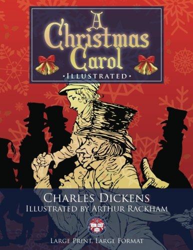 A Christmas Carol - Illustrated, Large Print, Large Format: