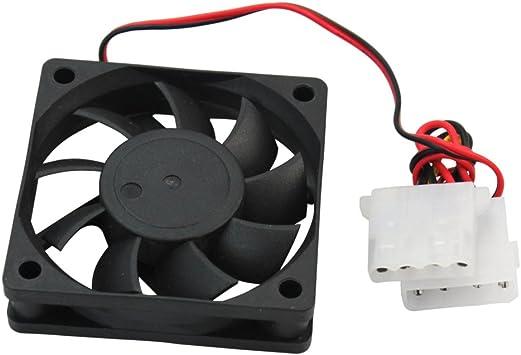 Nuevo 60mm Ventilador de CPU 4 Pins Disipador Fan Para PC Ordenador Portátil: Amazon.es: Electrónica