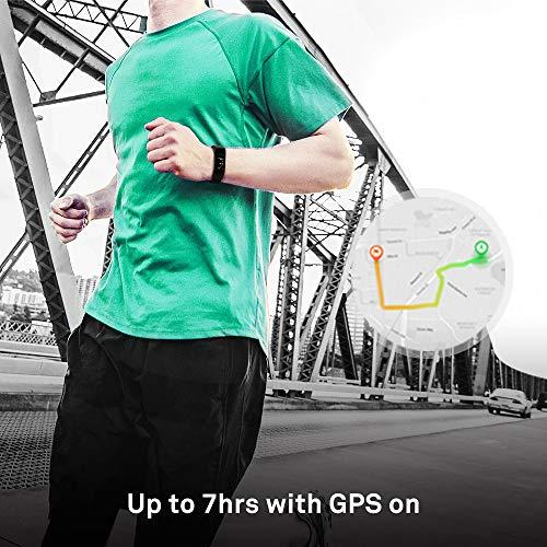Huawei Band 3 Pro Resistenza all'acqua 5 ATM e GPS Integrato, Analisi del Sonno con AI e Monitoraggio Continuo del Battito, Display AMOLED a colori da 0.95″, Obsidian Black