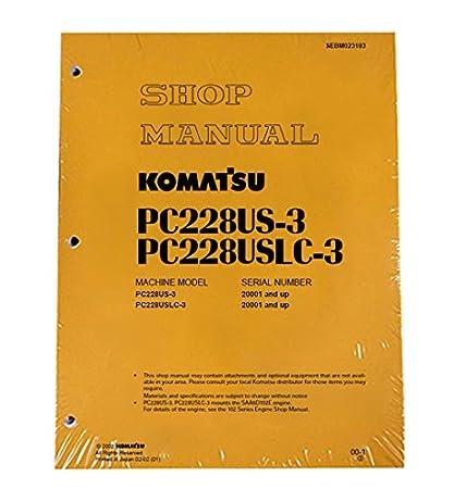 download komatsu excavator pc228us 3 pc228uslc 3 service repair workshop manual