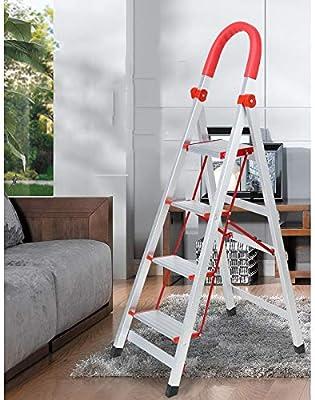 DNSJB Escalera Plegable con peldaños Escalera Antirruido Escalera de Espiga con peldaños 3/4 escalones Exterior Cubierta (Tamaño : 3 Steps): Amazon.es: Hogar